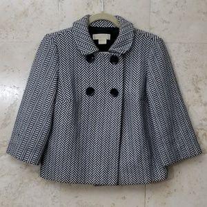 Michael Kors Herringbone Cotton Blazer